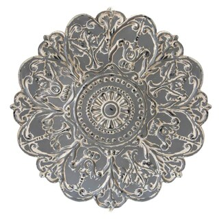 Stratton Home Décor Grey Medallion Wall Décor
