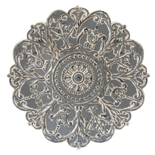 Stratton Home Decor Grey Medallion Wall Decor