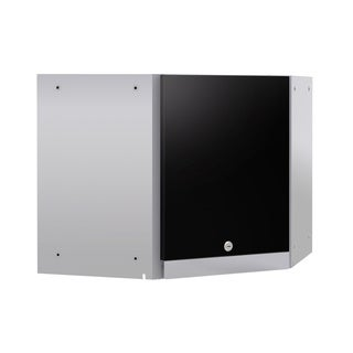 NewAge Products Performance 2.0 Black Steel Corner Wall Cabinet