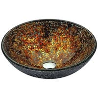 ANZZI Alto Series Vessel Sink in Molten Gold
