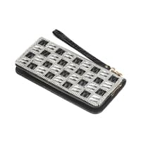 Koehler Home Decor Ladies Checker Crystal Wallet