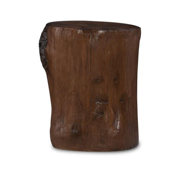 Astonishing Shop Hunter Tree Stump Accent Table On Sale Free Camellatalisay Diy Chair Ideas Camellatalisaycom