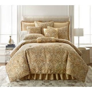 Sherry Kline Allister Woven Jacquard 3-piece Comforter Set