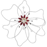 Stratton Home Décor Outlined Flower Wall Art