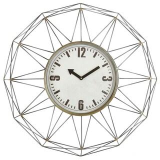 Kaylin Metal Wall Clock