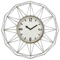 Kaylin Metal Wall Clock