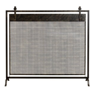 Francis Metal Fireplace Screen