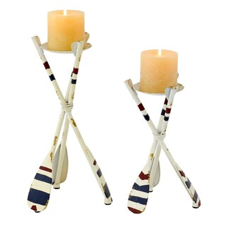 Rielle Nautical Candle Holders (Set of 2)