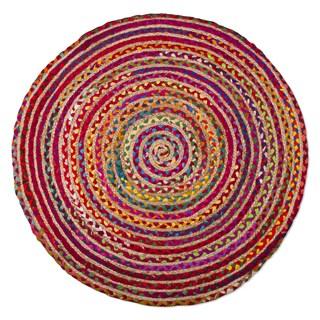 TAG Bari Chindi Round Rug (3' Round)
