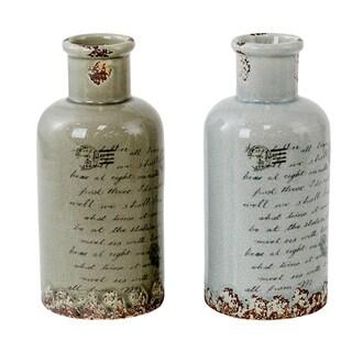 Rowley Ceramic Vases (Set of 2)