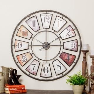"""Morgan Large Wall Clock - 35""""H x 35""""W x 1.5""""D"""