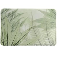 Laural Home Tropical X-Ray Ferns Memory Foam Rug
