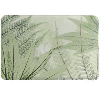 Laural Home Tropical X-Ray Ferns Memory Foam Rug