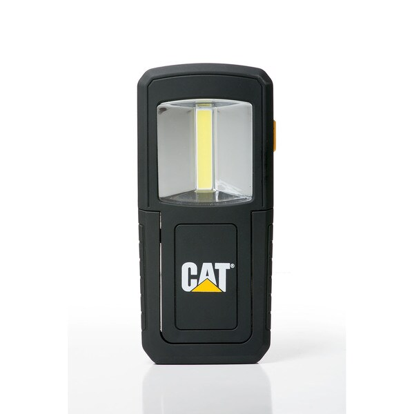 CAT CT3510 Dual Beam Work Light – 165 Lumen COB LED Front Flood Panel, 50 Lumen Top Beam Hands-Free Light