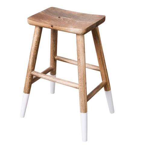 CG Sparks Handmade Copenhagen Wood Counter Stool (India)
