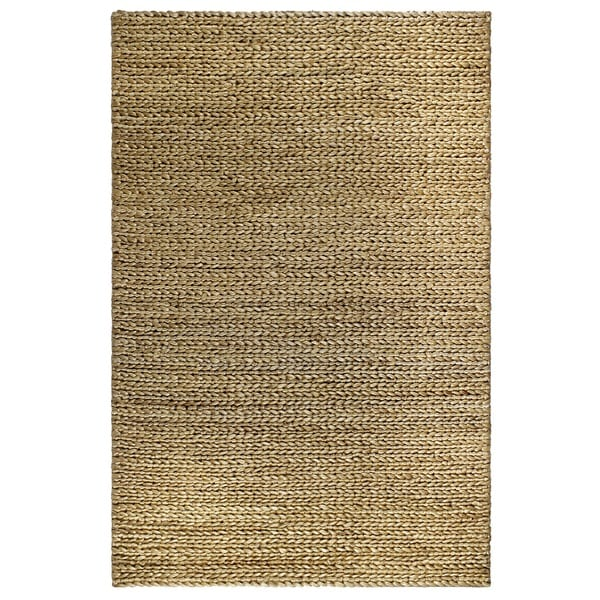Handmade Fab Habitat 100% Sustainable Jute Area Rug Ecofriendly Natural Fibers, Handwoven Carlsbad (India)