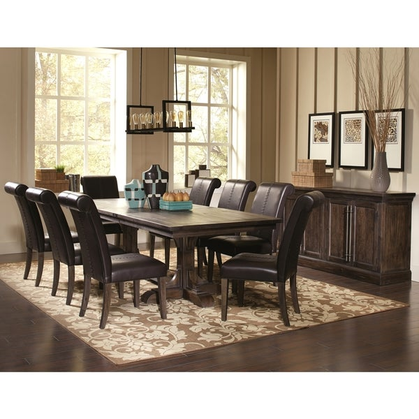 Dining Room Sets With Buffet: Shop French Baroque Designed Dining Set With Storage