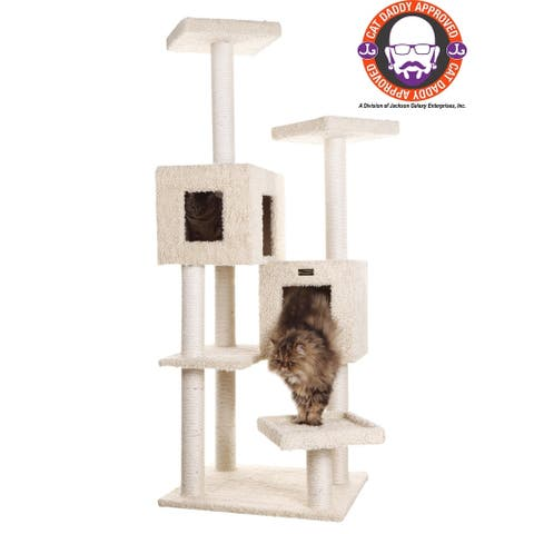 Armarkat Multiple Level Cat Tree 67""