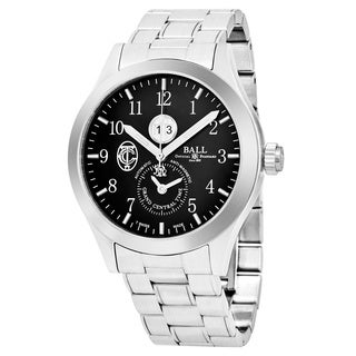 Ball Men's GM2086C-S2-BK 'Engineer II' Black Dial Stainless Steel Limited Edition Swiss Automatic Watch
