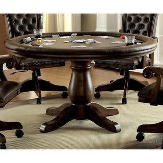Furniture of America Custard Traditional Interchangeable Brown Round Game Table https://ak1.ostkcdn.com/images/products/16304599/P22669380.jpg?impolicy=medium