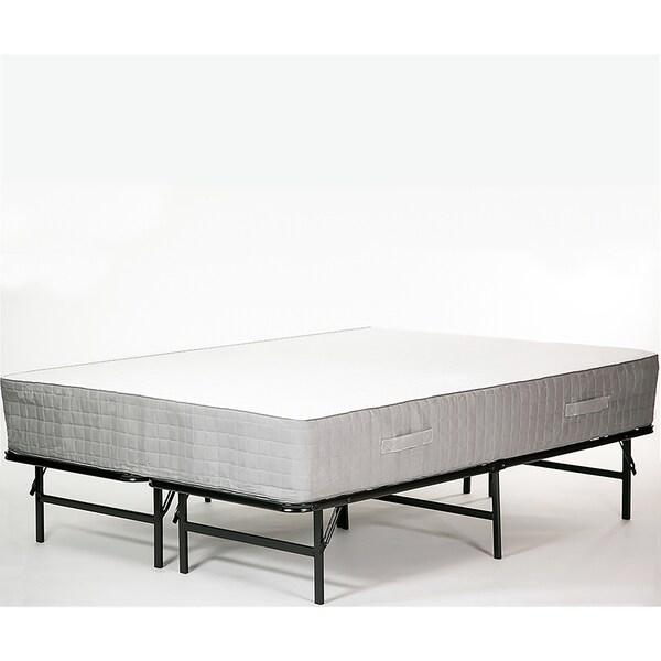 Shop Handy Living Full Foldable Metal Bed Frame On Sale Free