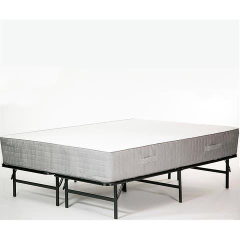 Handy Living Full Foldable Metal Bed Frame