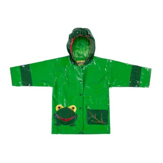 Kidorable Frog Rain Coat