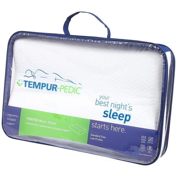 TEMPUR-Neck Gel Memory Foam Contour Pillow