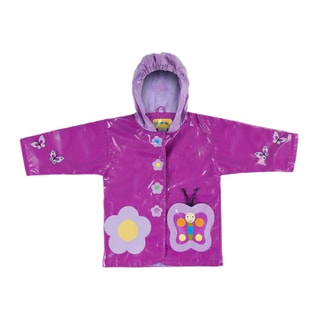 Kidorable Butterfly Rain Coat