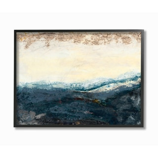 The Sea in the Morning Framed Giclee Texturized Art