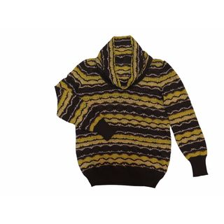 Missoni Brown Yellow Sweater 42 6