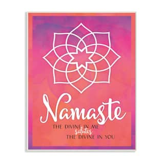 Namaste Mandala Typography Wall Plaque Art|https://ak1.ostkcdn.com/images/products/16305023/P22669759.jpg?impolicy=medium