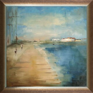Elwira Pioro 'The Sands Of Time' Hand Painted Framed Oil Reproduction on Canvas