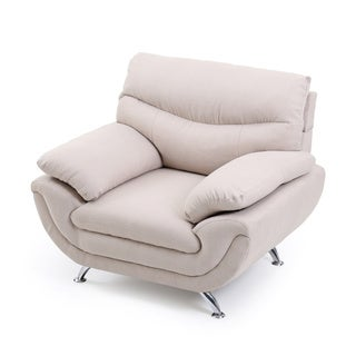 Lyke Home Contemporary Fabric Chair