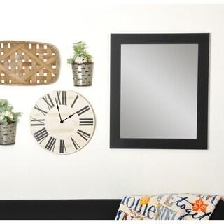 BrandtWorks Multi Size Black Over Sofa Decor Wall Mirror