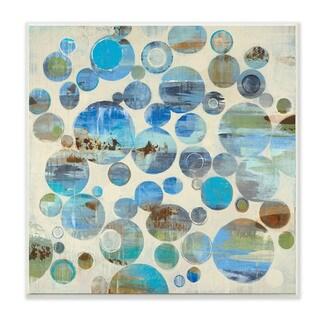 Abstract Landscape Bubbles Wall Plaque Art