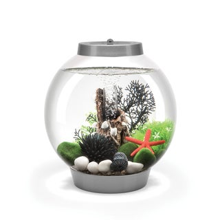 biOrb Classic 4 Gallon Silver Acrylic Aquarium