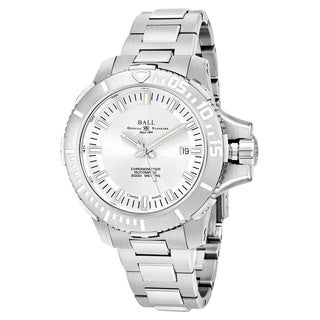Ball Men's DM3000A-SCJ-SL 'Engineer Hydrocarbon' Silver Dial Stainless Steel Swiss Automatic Watch
