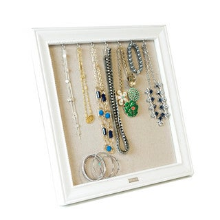 White Large Pinboard Jewelry Frame by Hives & Honey
