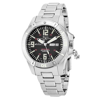 Ball Men's DM2036A-S5CA-BK 'Spacemaster Captain Poindexter' Black Dial Stainless Steel Swiss Automatic Watch