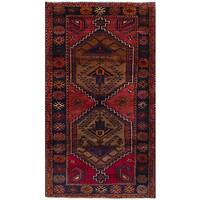 ecarpetgallery Hand-Knotted Koliai Red Wool Rug (3'6 x 6'7)