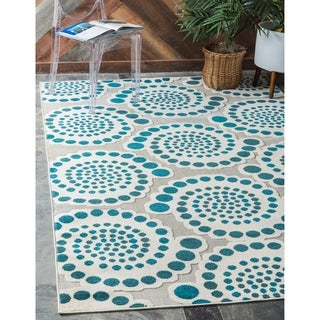 Unique Loom Charlotte Indoor/ Outdoor Area Rug - 6' x 9'
