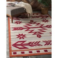 Unique Loom Albuquerque Indoor/ Outdoor Area Rug - 6' X 9'