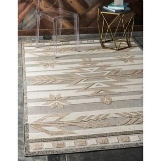 Unique Loom Albuquerque Indoor/ Outdoor Area Rug - 6' x 9'