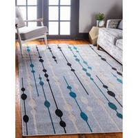 Unique Loom Seattle Transitional Area Rug - 5' x 8'