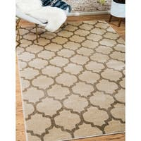 Unique Loom Philadelphia Trellis Area Rug - 6' x 9'