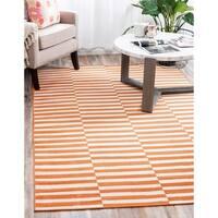 Unique Loom Striped Tribeca Area Rug - 6' 0 x 9' 0