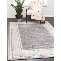 Unique Loom Allover Williamsburg Area Rug - 6' x 9'