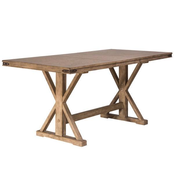 Best Kitchen Jamestown Ny: Shop Hillsdale Furniture Leclair Vintage Grey Wood Counter