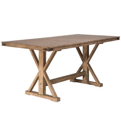Hillsdale Furniture Leclair Vintage Grey Wood Counter-height Dining Table